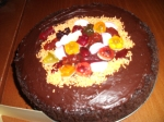 Chocolate Cauldron Cake