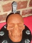 Peanut Butter Skull Cake