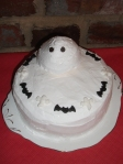 Walnut Cake With 'Ghostly' American Frosting