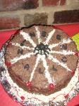 Spiders Web Chocolate & Almond Cake