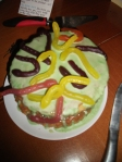 Lemon & Slime Cake