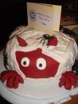 Mummified Devil's Food Cake