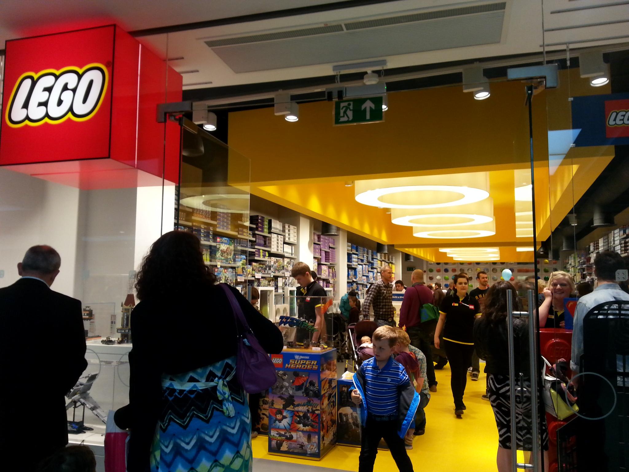 Lego Shop Trinity Leeds Humbugshouse