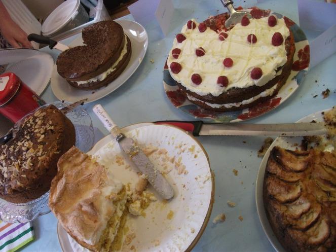 Morrisons Walnut Layer Cake