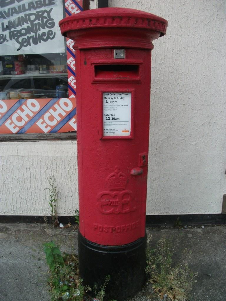 EVIII post box L35 34 July 2013 Liverpool (1)
