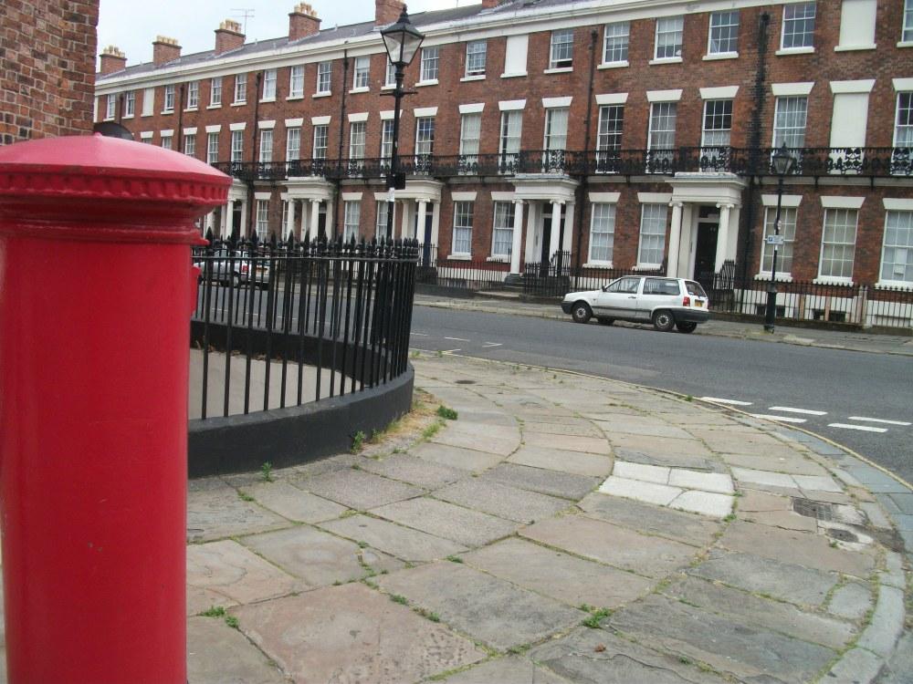 EVIII post box L8 75 Liverpool July 2013 (1)