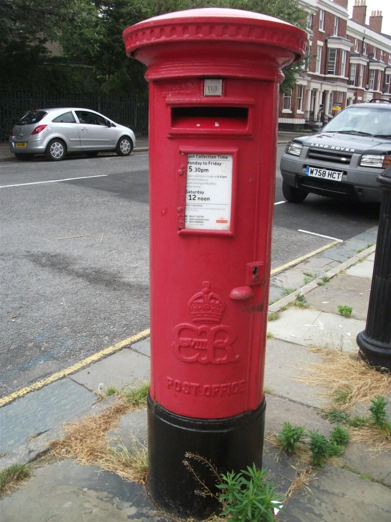 EVIII post box L8 75 Liverpool July 2013 (2)
