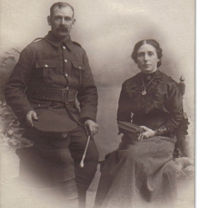 Frank and Barbara Longfield 1915