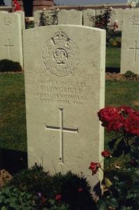 Frank Longfield Grave 1991
