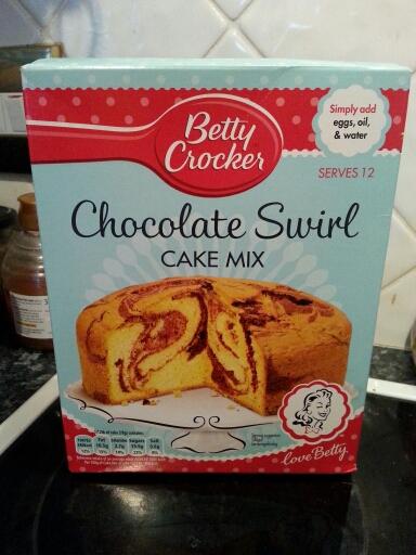 Betty Crocker Chocolate Cake Mix In One Tin
