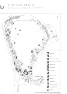 pine lake resort map