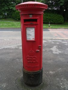 EVIII POST BOX DL9 90