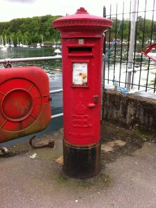Tobermory, Isle of Mull, EVIII POST BOX PA75 101 - SAM SMITH