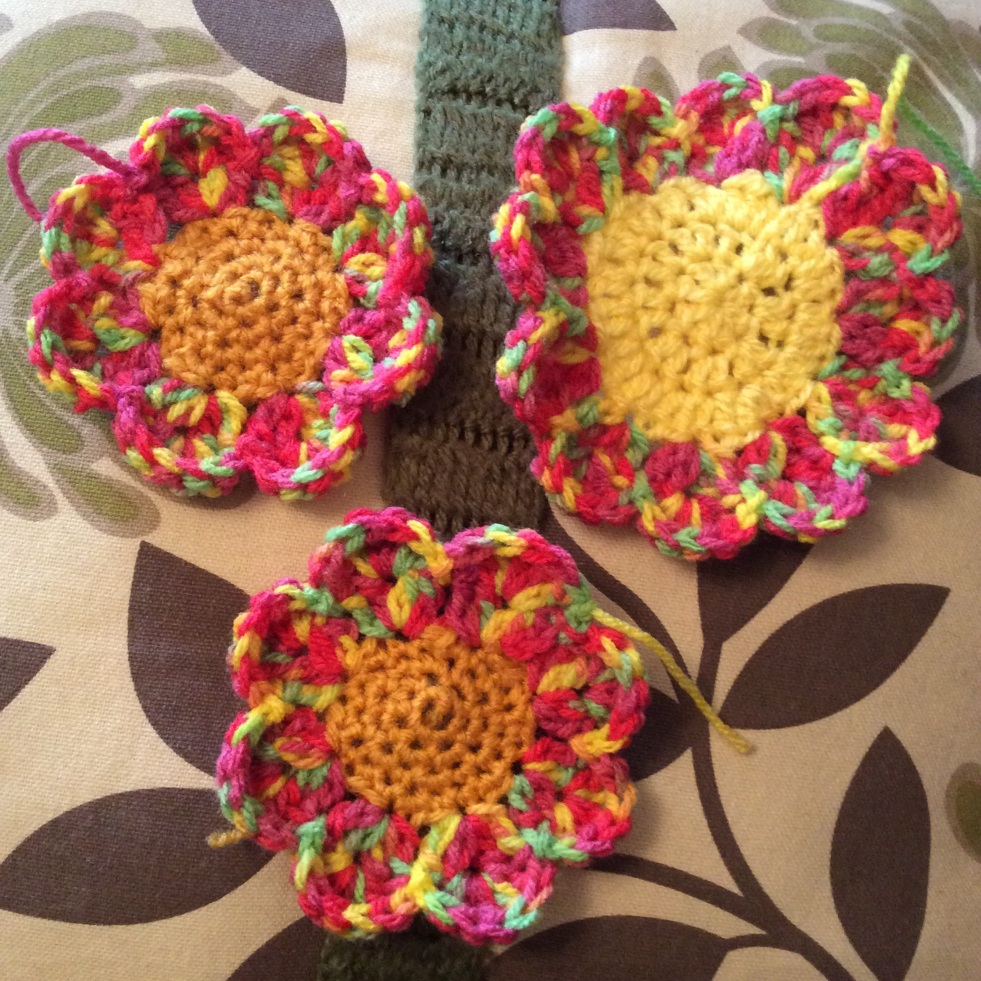 Crochet ?Allotment Flower Pattern ? humbugshouse