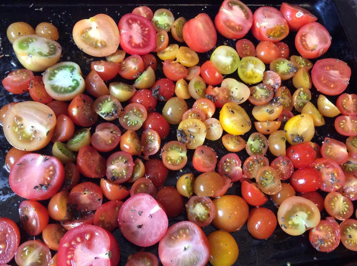 Oven Roasted Tomatoes For The Freezer – humbugshouse
